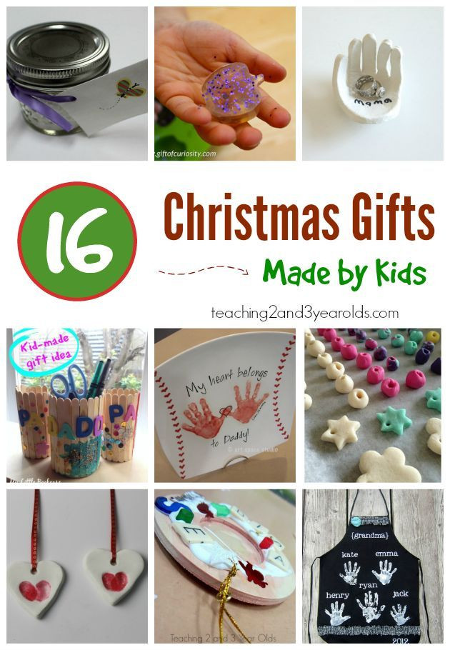 DIY Gifts For 3 Year Old  20 Easy Kid Made Christmas Gifts