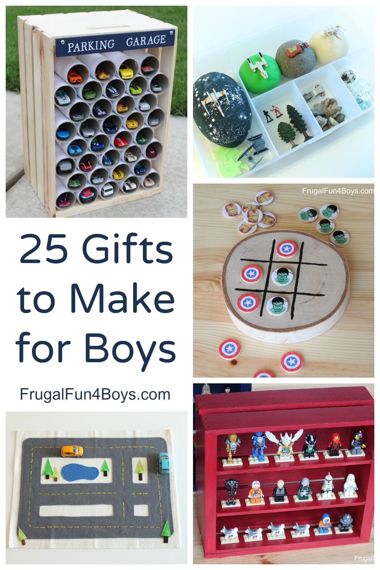DIY Gifts For 3 Year Old  25 More Homemade Gifts to Make for Boys