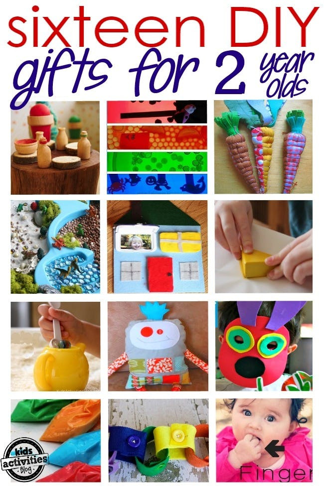 DIY Gifts For 3 Year Old  16 ADORABLE HOMEMADE GIFTS FOR A 2 YEAR OLD Kids