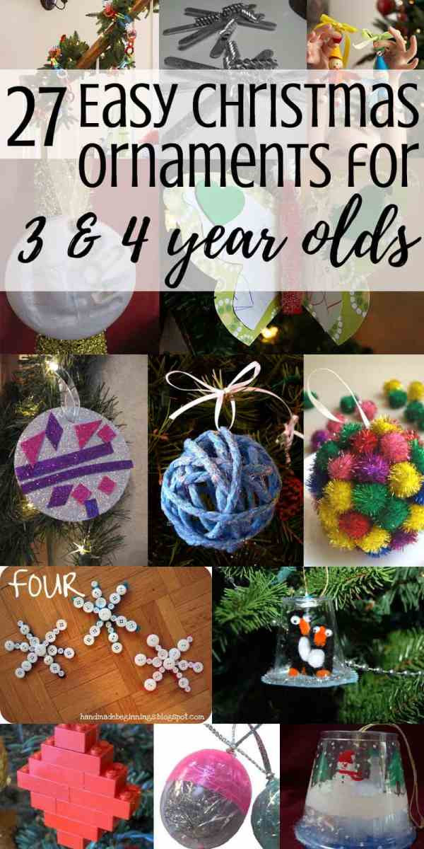 DIY Gifts For 3 Year Old  27 Ornaments to Make With a Preschooler