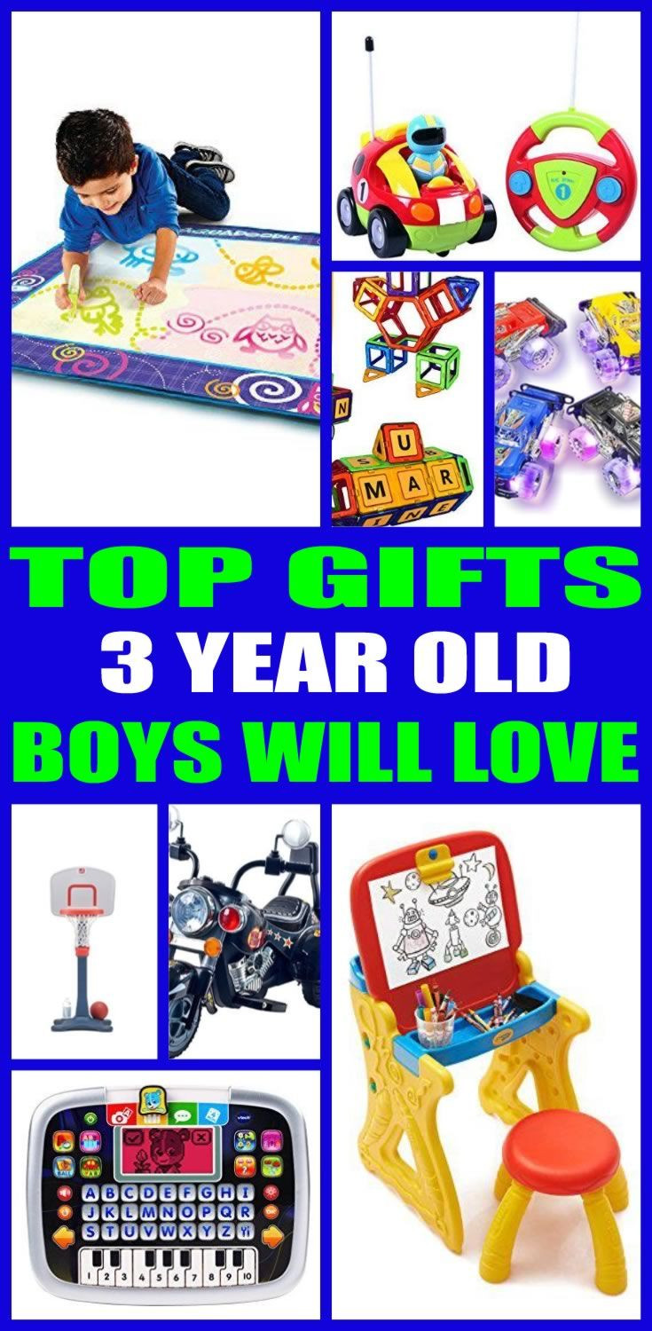DIY Gifts For 3 Year Old  Best Gifts For 3 Year Old Boys