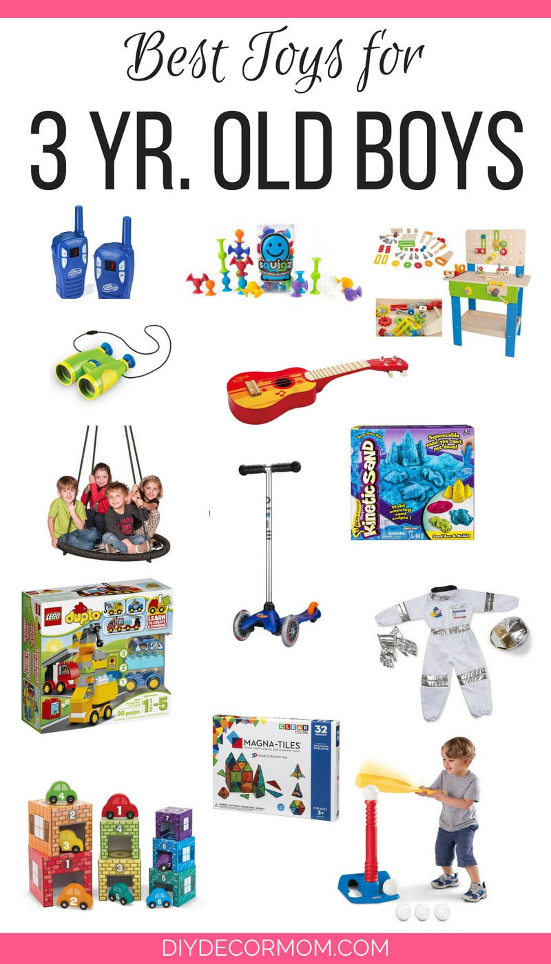 DIY Gifts For 3 Year Old  Best Toys For 3 Yr Old Boy 2018