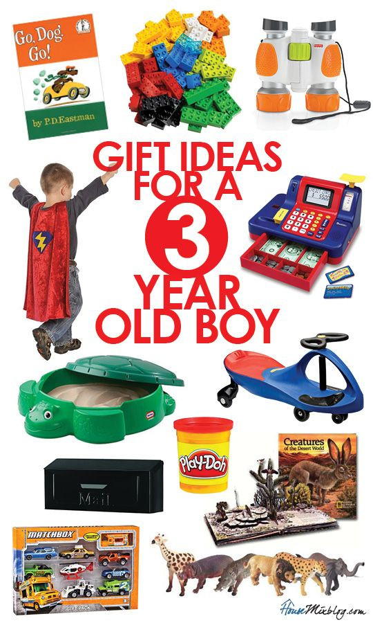 DIY Gifts For 3 Year Old  Gift ideas for 3 year old boys