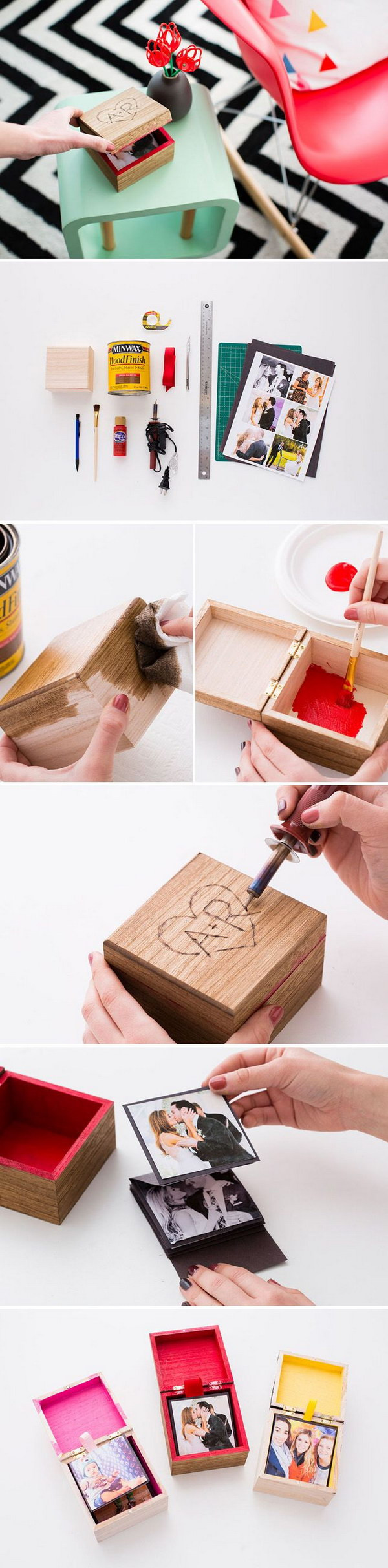 DIY Gifts For Him  25 DIY Gifts for Him With Lots of Tutorials 2017