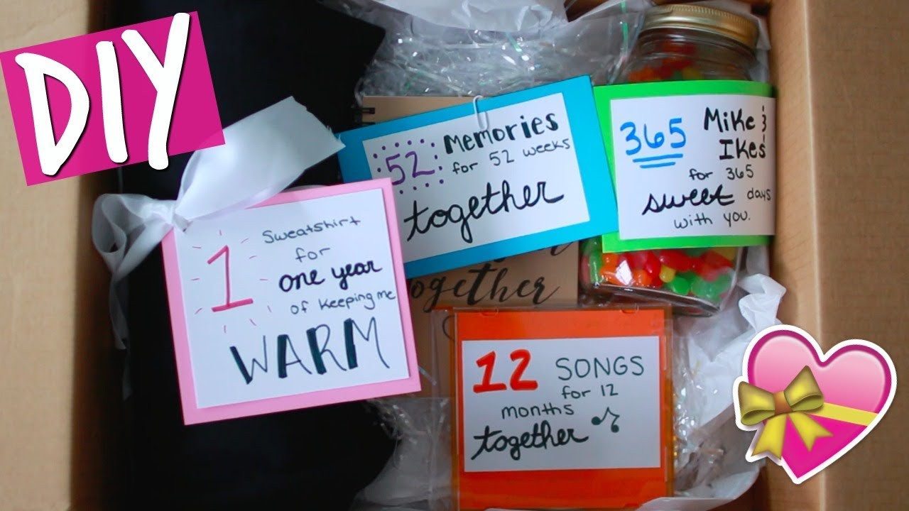 DIY Gifts For Him  DIY ANNIVERSARY GIFT FOR HIM