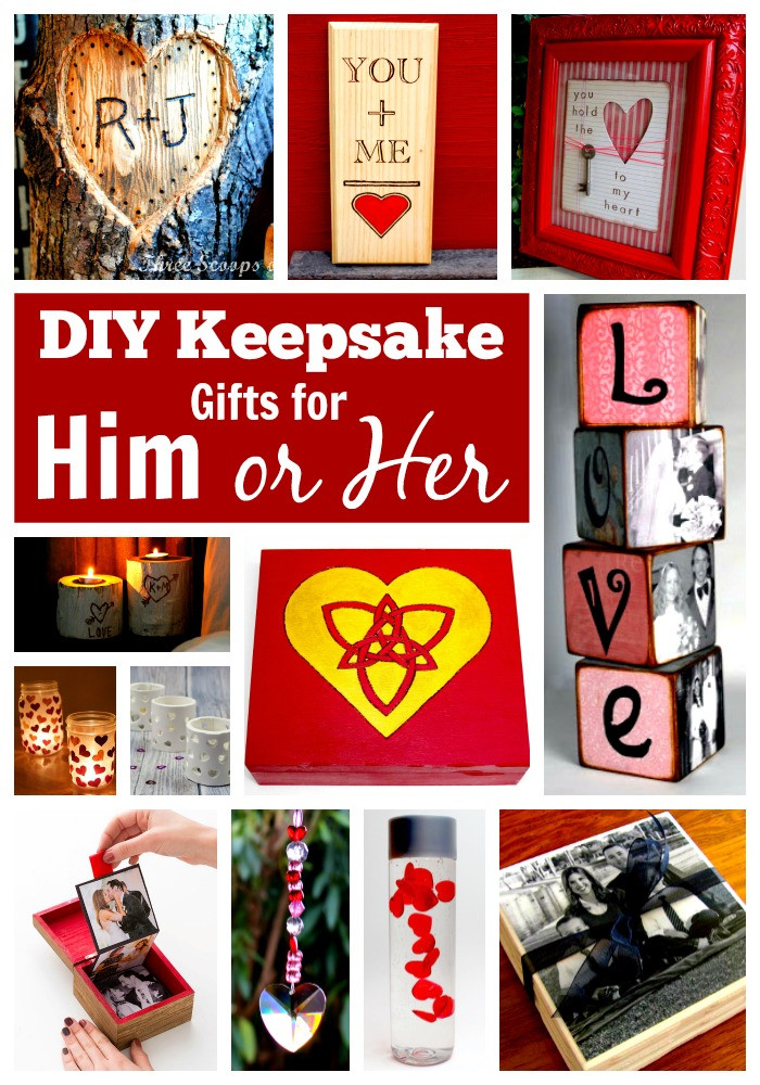 DIY Gifts For Him  25 DIY Gifts for Him or Her – In Crafts