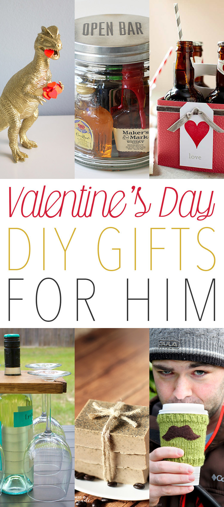 DIY Gifts For Him  Valentine s Day DIY Gifts for Him The Cottage Market