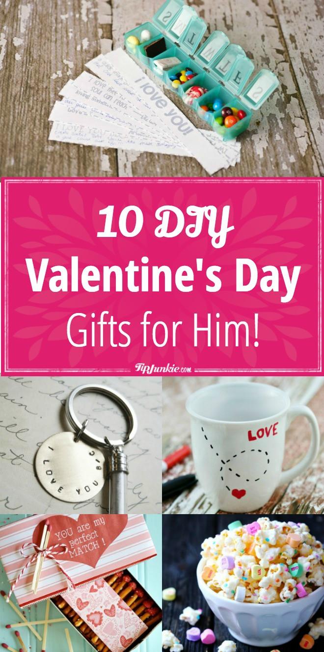 DIY Gifts For Him  10 DIY Valentine's Day Gifts for Him – Tip Junkie