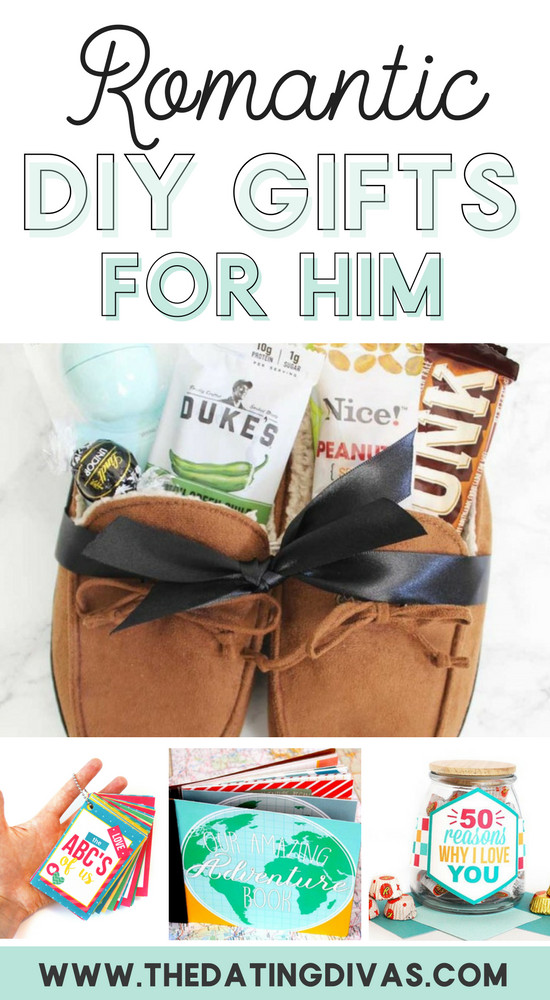 DIY Gifts For Him  100 Romantic Gifts for Him From The Dating Divas