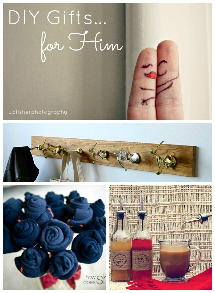 DIY Gifts For Him  DIY Valentine s Day Gifts for Him Made To Travel