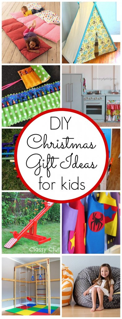 DIY Gifts For Kids  DIY Kids Christmas Gift Ideas Classy Clutter