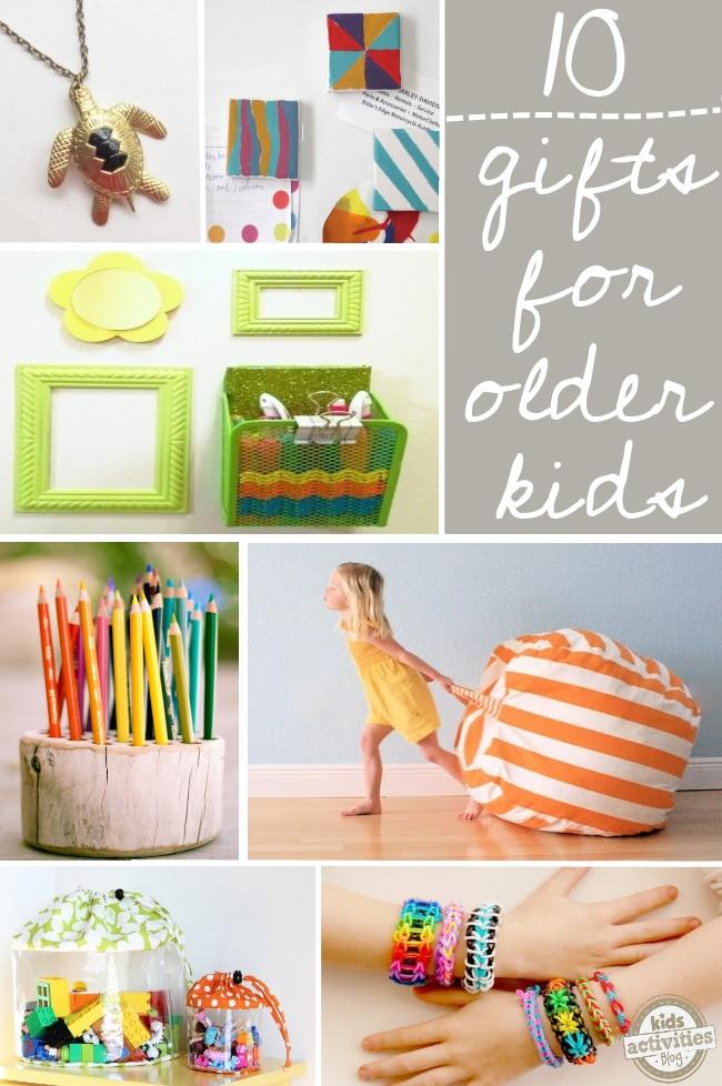 DIY Gifts For Kids  10 DIY Gift Ideas for Older Kids