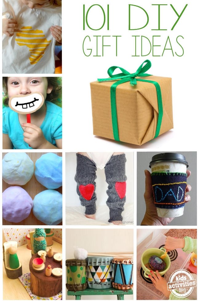 DIY Gifts For Kids  101 DIY Gifts for Kids