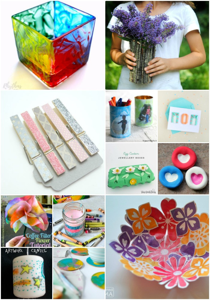DIY Gifts For Kids  35 Super Easy DIY Mother's Day Gifts For Kids and Toddlers