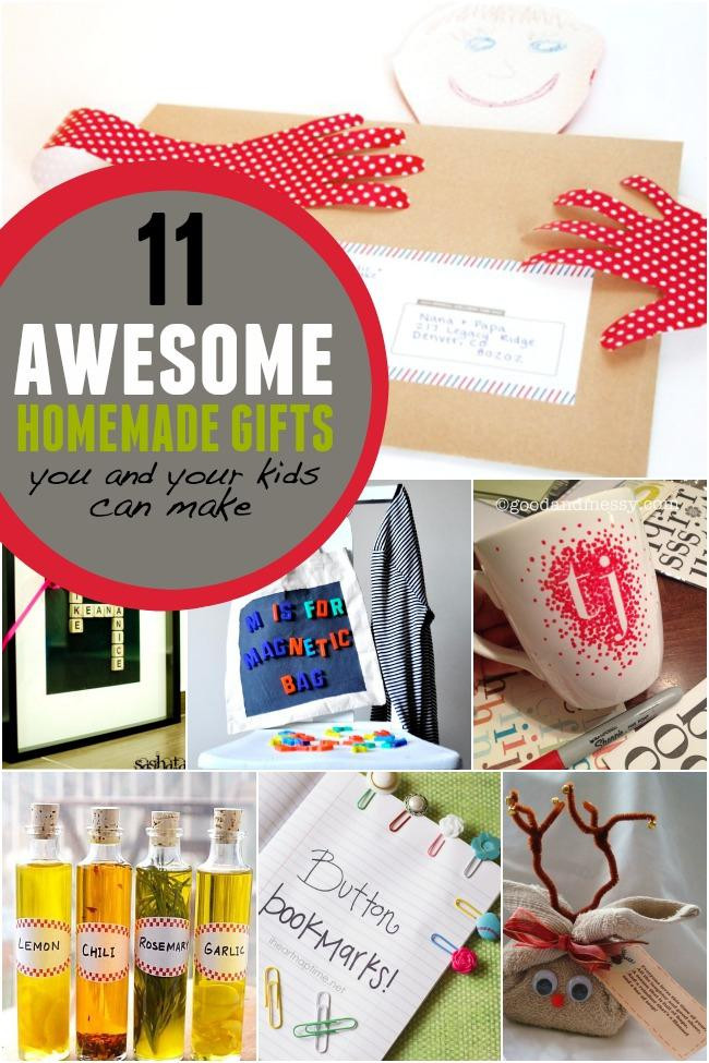 DIY Gifts For Kids To Make  11 Awesome Homemade Gifts You and Your Kids can Make