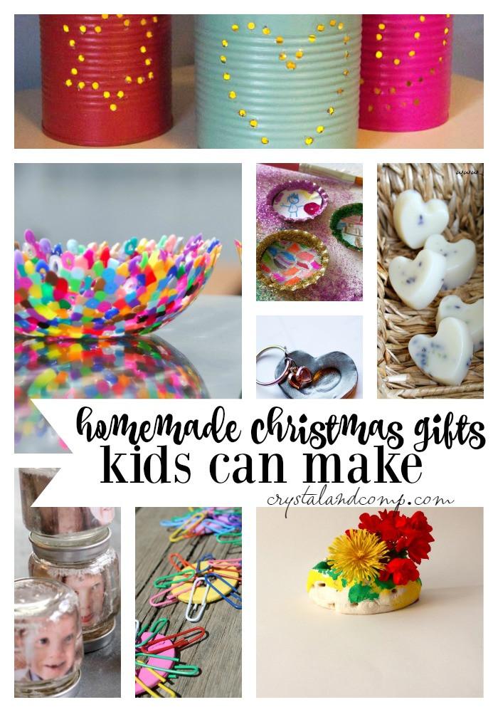 DIY Gifts For Kids To Make  25 Homemade Christmas Gifts Kids Can Make