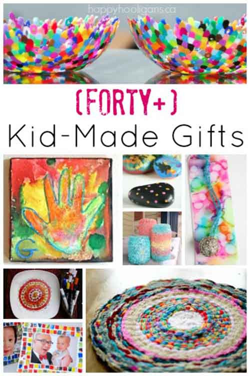 DIY Gifts For Kids To Make  40 Fabulous Gifts Kids Can Make