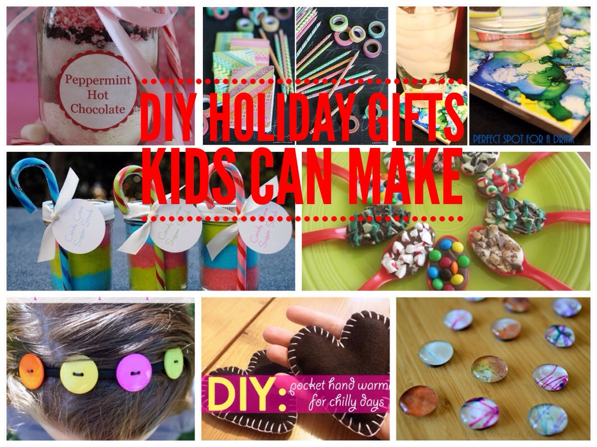 DIY Gifts For Kids To Make  Simple DIY Gifts Kids Can Make for the Holidays