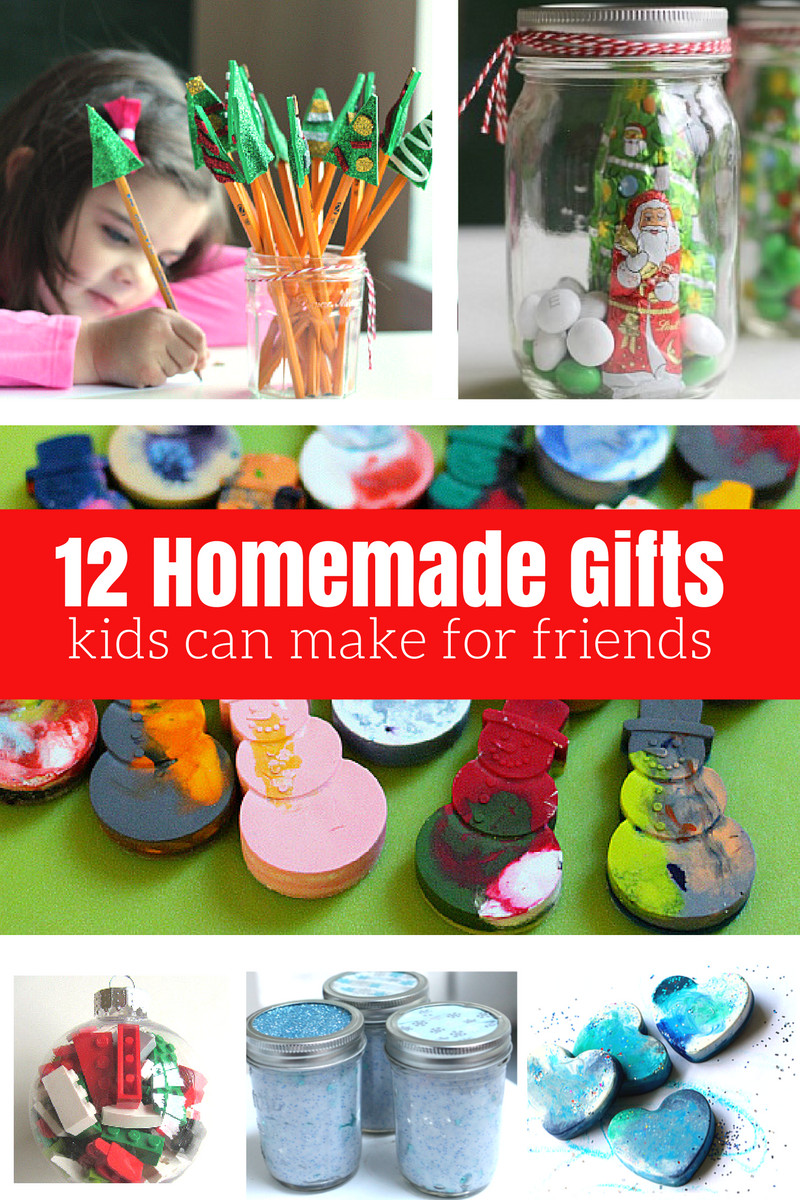 DIY Gifts For Kids To Make  12 Homemade Gifts Kids Can Help Make For Friends and