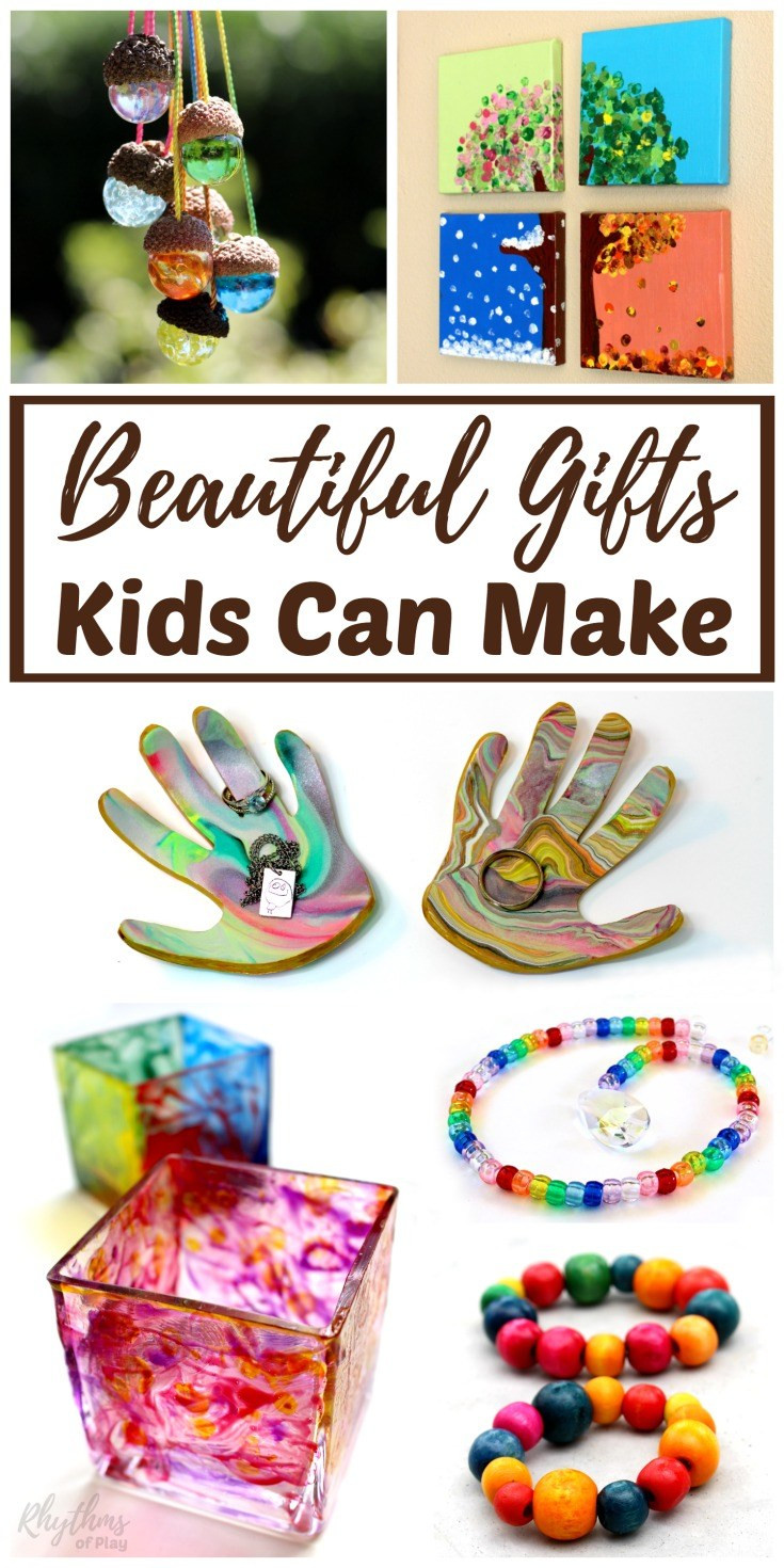 DIY Gifts For Kids To Make  Beautiful DIY Gifts Your Kids Can Make
