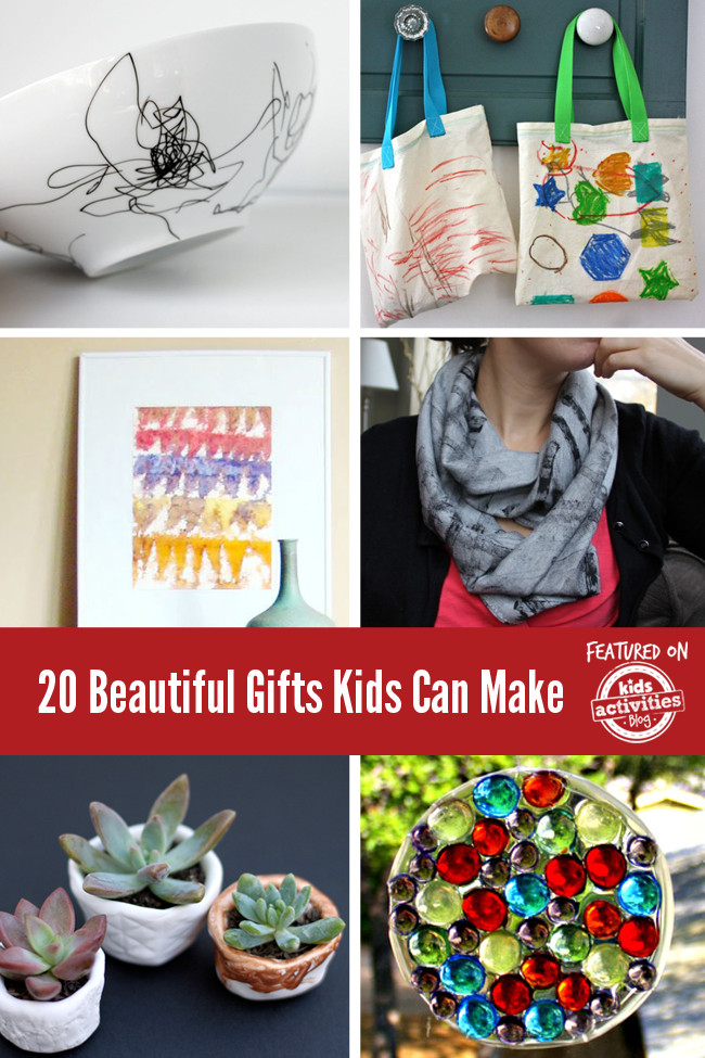 DIY Gifts For Kids To Make  20 Beautiful Gifts Kids Can Make