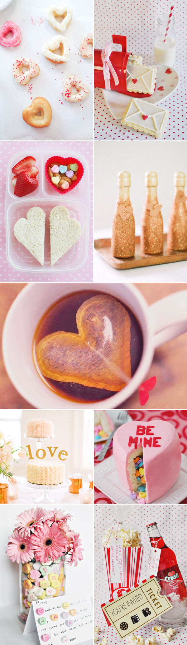 """DIY Gifts That Say I Love You  45 Fun Ways to Say """"I Love You"""" Creative Valentine's Day"""