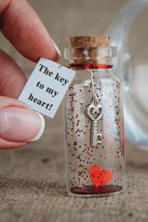DIY Gifts That Say I Love You  Valentines Day Anniversary t for girlfriend The key to