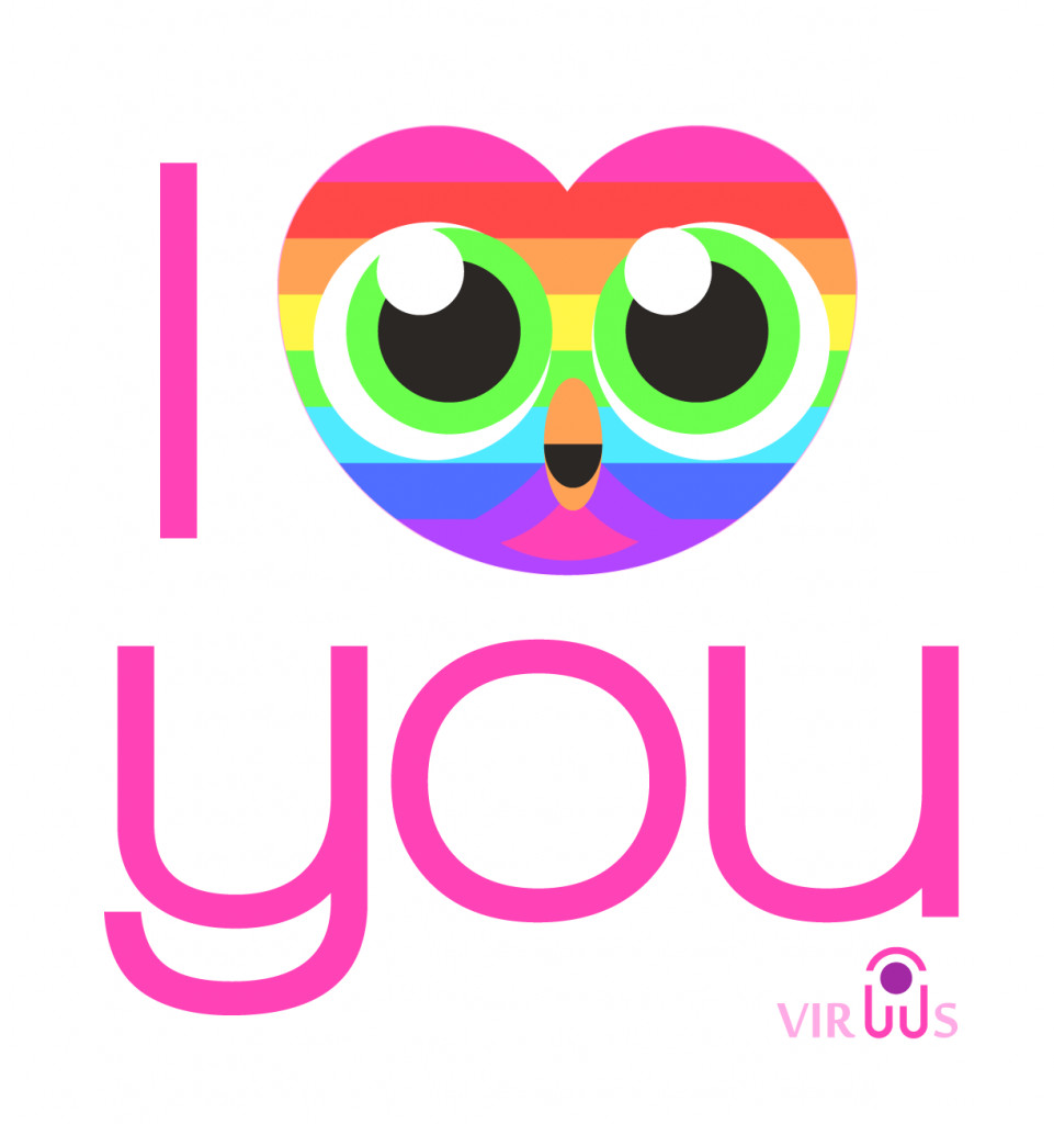 DIY Gifts That Say I Love You  i owl you rainbow
