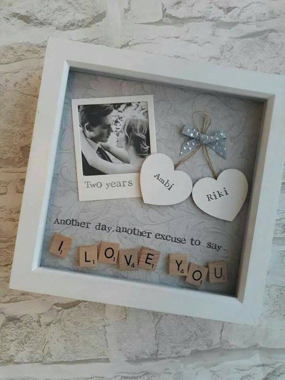 DIY Gifts That Say I Love You  Valentines Day Gift Anniversary Gift Gift to Say i Love