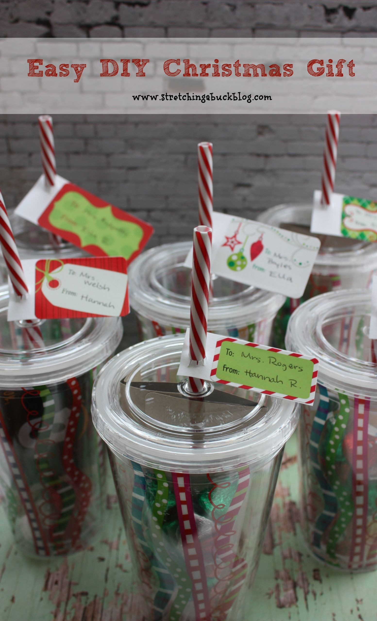 DIY Holiday Gift Ideas  Easy DIY Christmas Gift Idea for Teachers Friends More