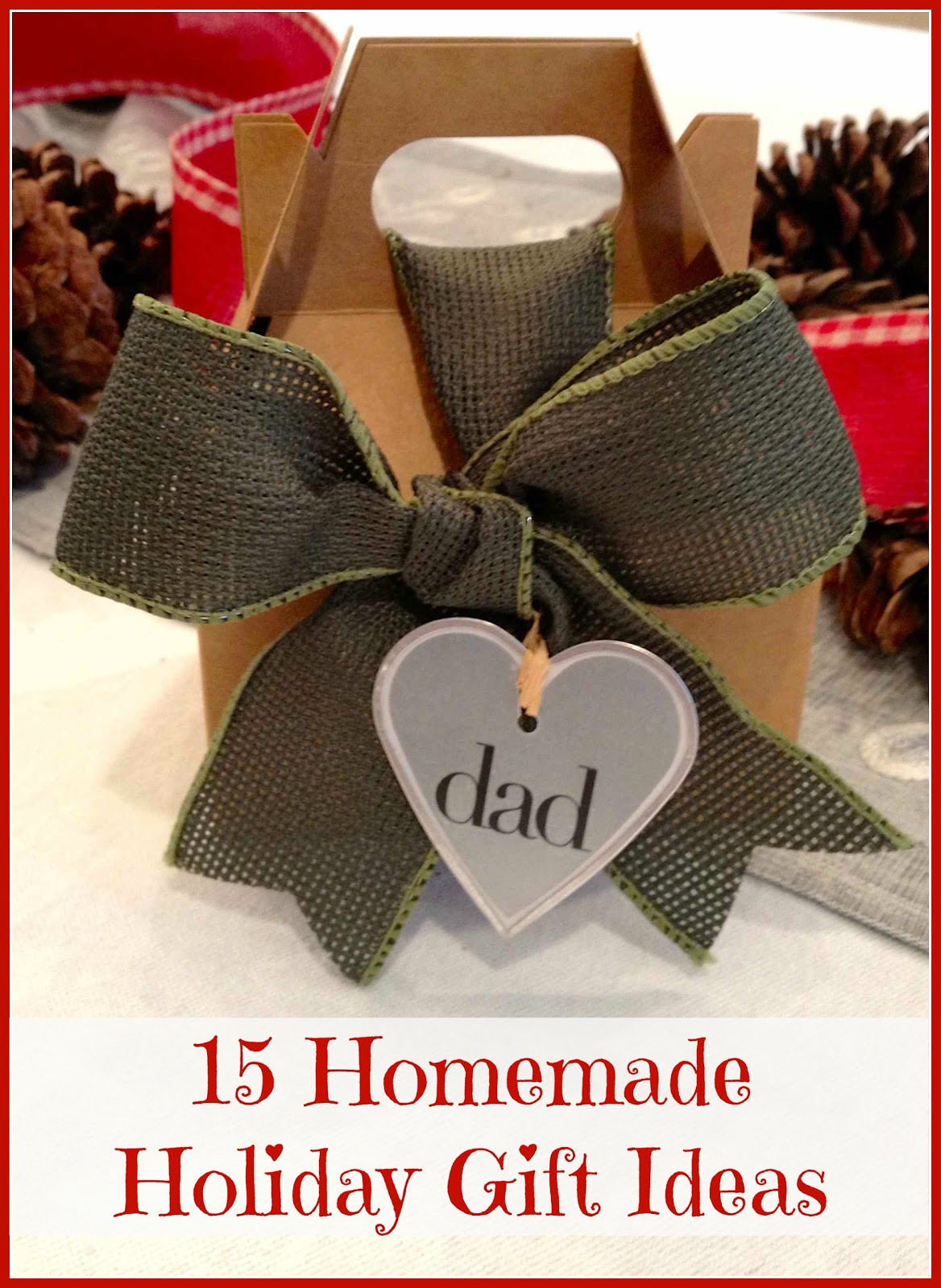 DIY Holiday Gift Ideas  Homemade Christmas Gifts Ideas You ll Love