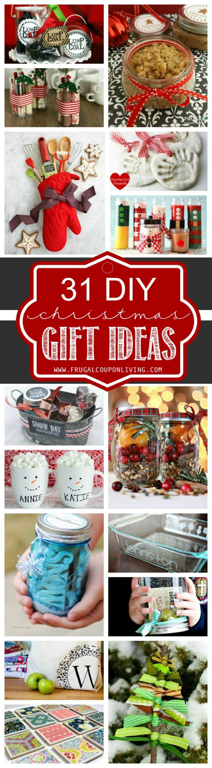 DIY Holiday Gift Ideas  31 DIY Christmas Gift Ideas
