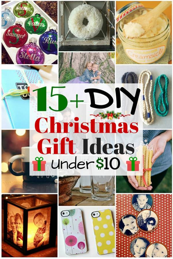 DIY Holiday Gift Ideas  15 DIY Christmas Gift Ideas under $10 The Bud Diet