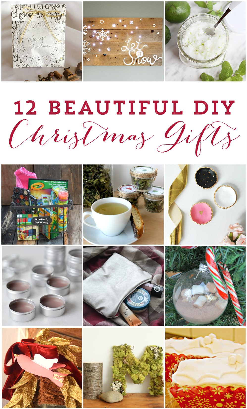 DIY Holiday Gift Ideas  Homemade Peppermint Tea [with FREE printable] Love