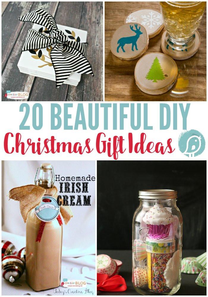 DIY Holiday Gift Ideas  20 DIY Christmas Gift Ideas