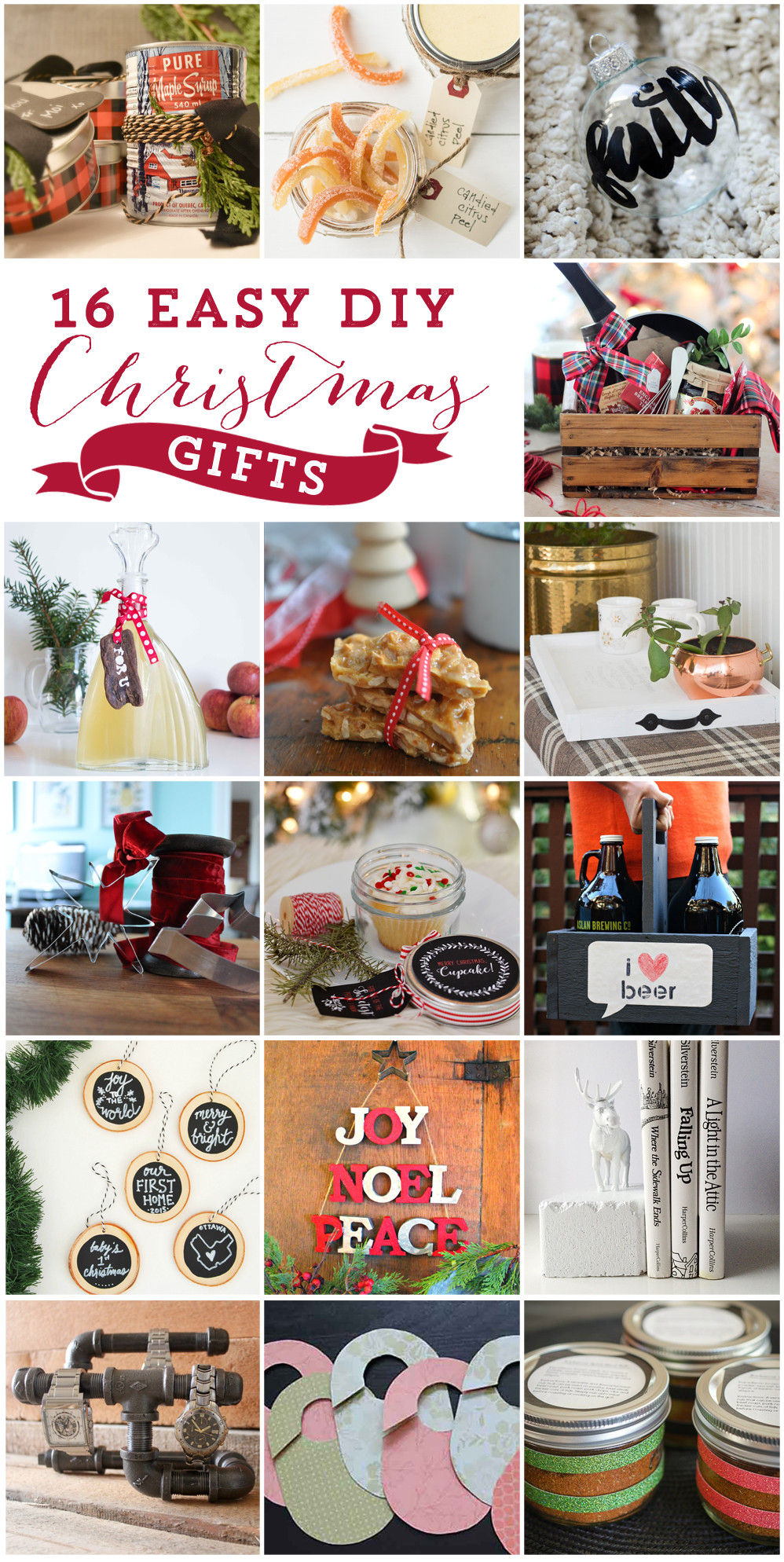 DIY Holiday Gift Ideas  Christmas Cupcake in a Jar 16 More DIY Gift Ideas Free