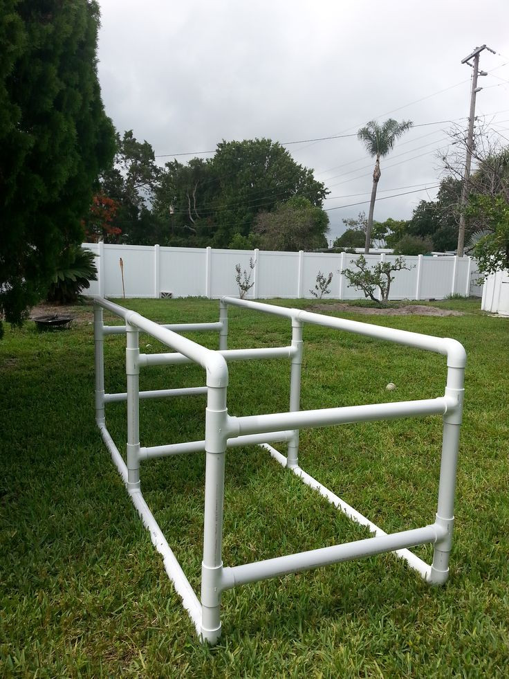 """DIY Kayak Rack Pvc  Constructed of 2"""" PVC for weight support This stand was"""