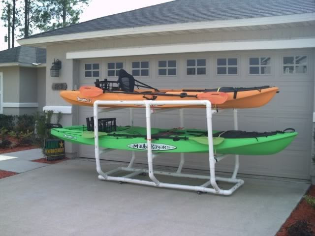 DIY Kayak Rack Pvc  Fishing Boat Download Diy kayak storage rack pvc
