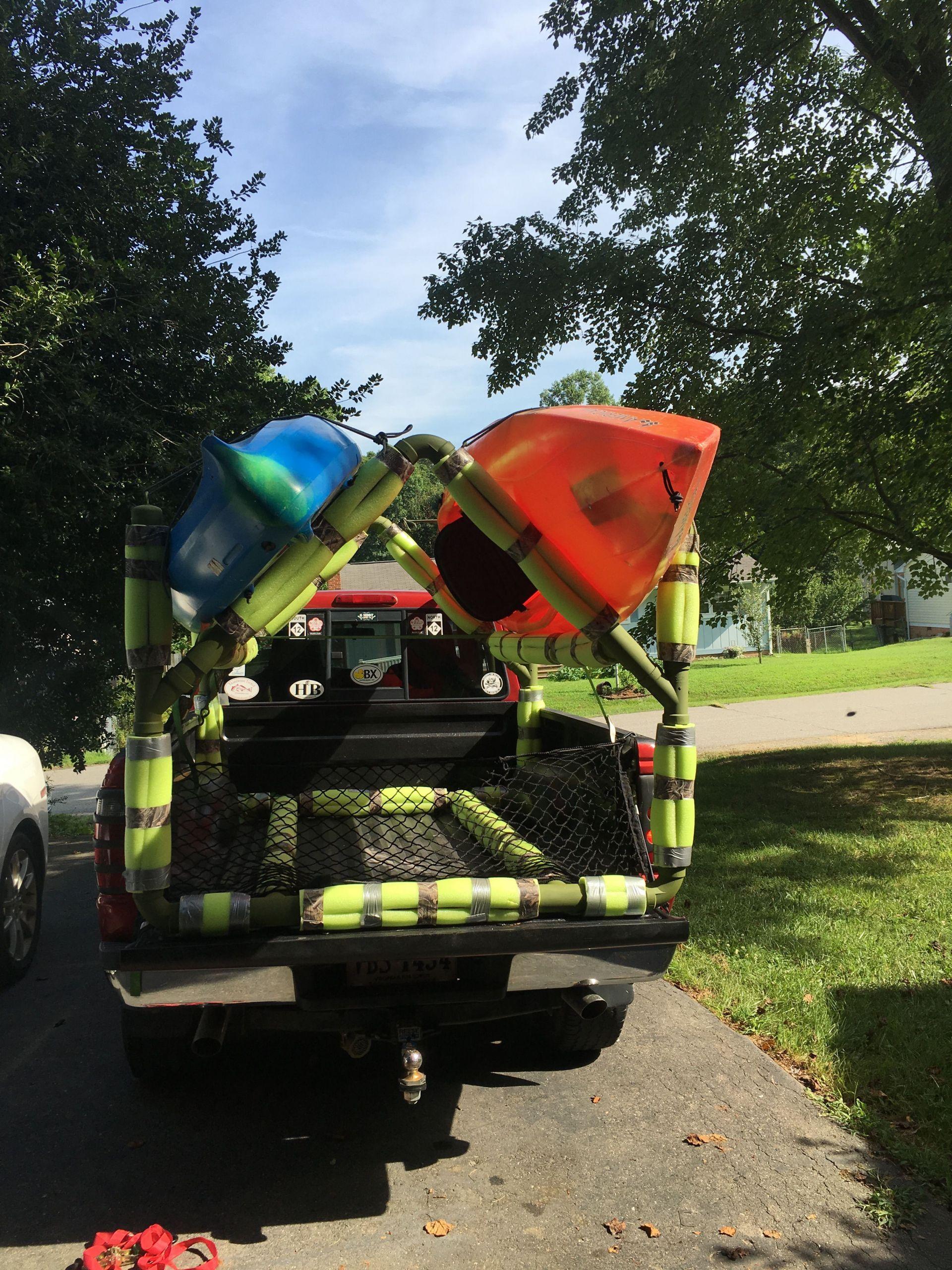 DIY Kayak Rack Pvc  DIY PVC Kayak Rack