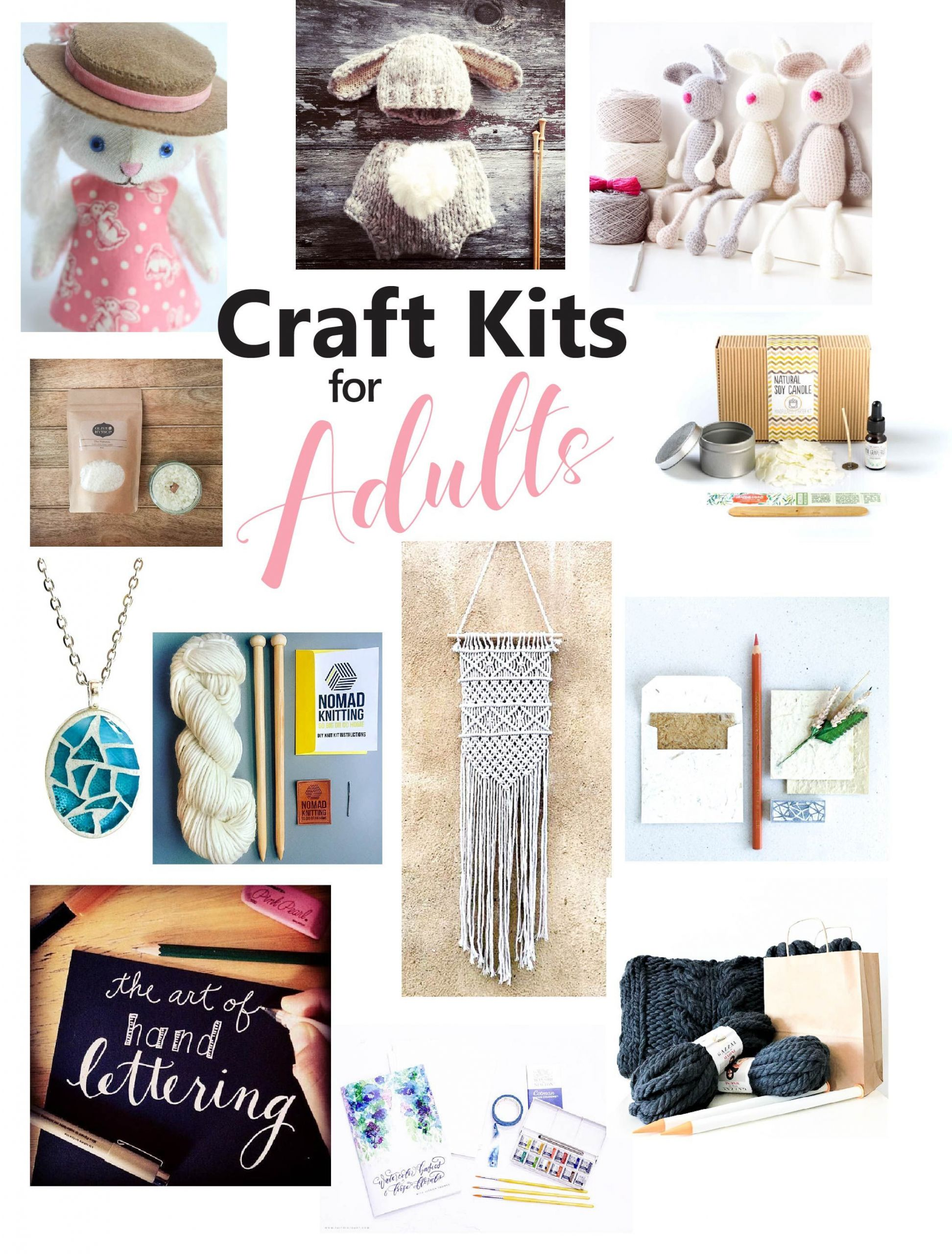 DIY Kits For Adults  The Best Craft Kits for Adults
