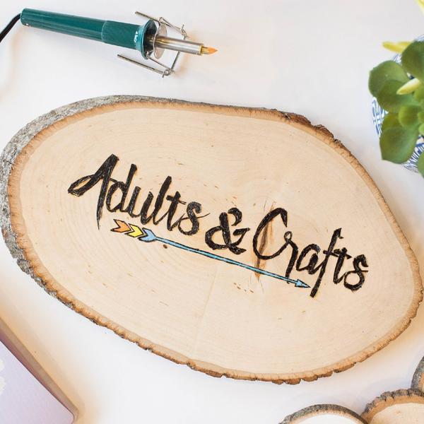 DIY Kits For Adults  DIY Woodburning Kit