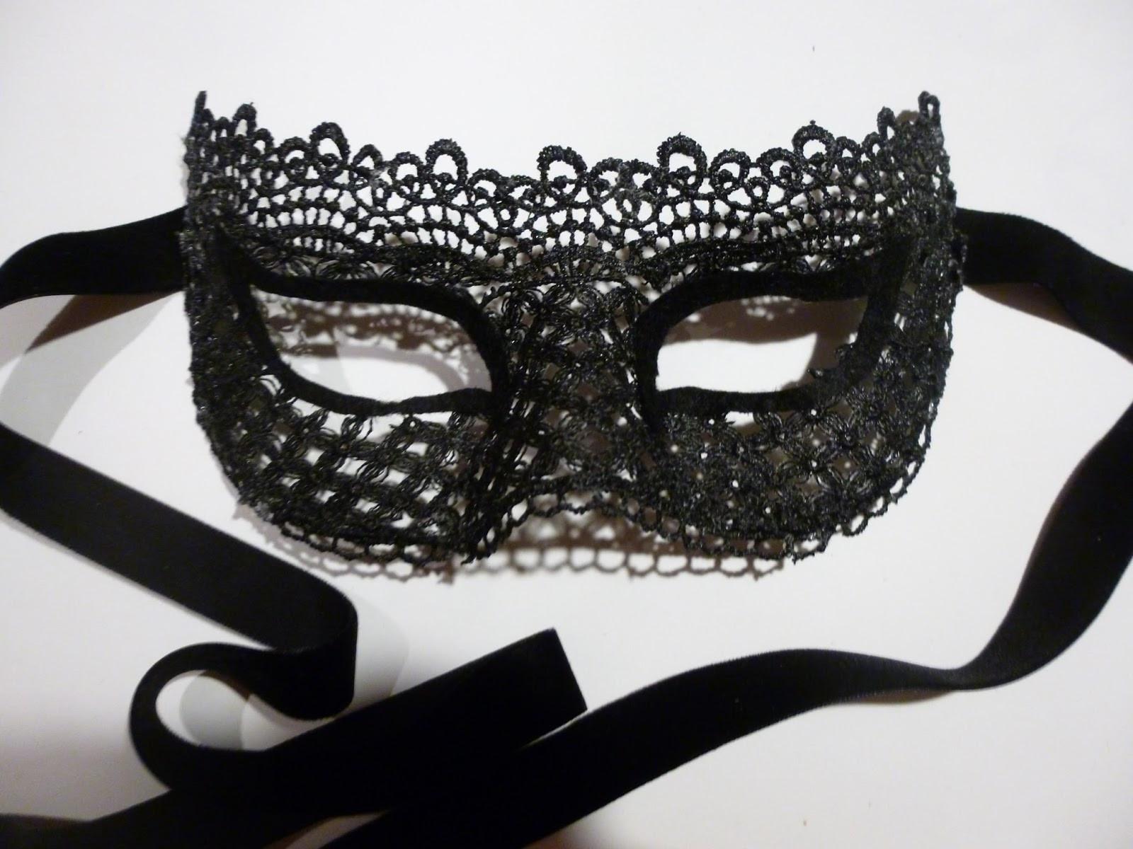 DIY Lace Mask  SickChick DIY Lace Masquerade Mask