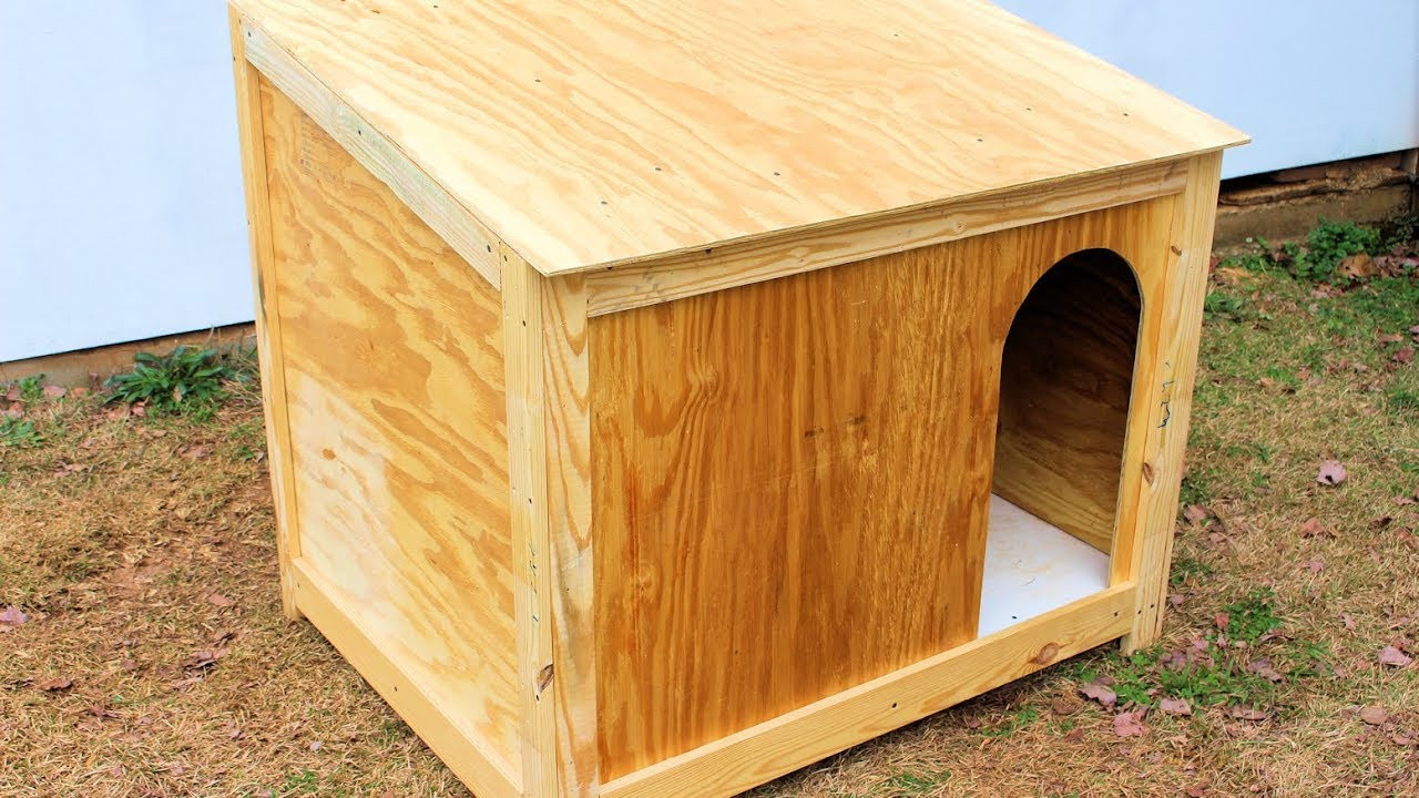 DIY Large Dog House  Simple Dog House Build DIY