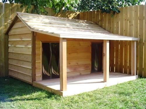 DIY Large Dog House  30 Awesome Dog House DIY Ideas Indoor Outdoor Design PHOTOS