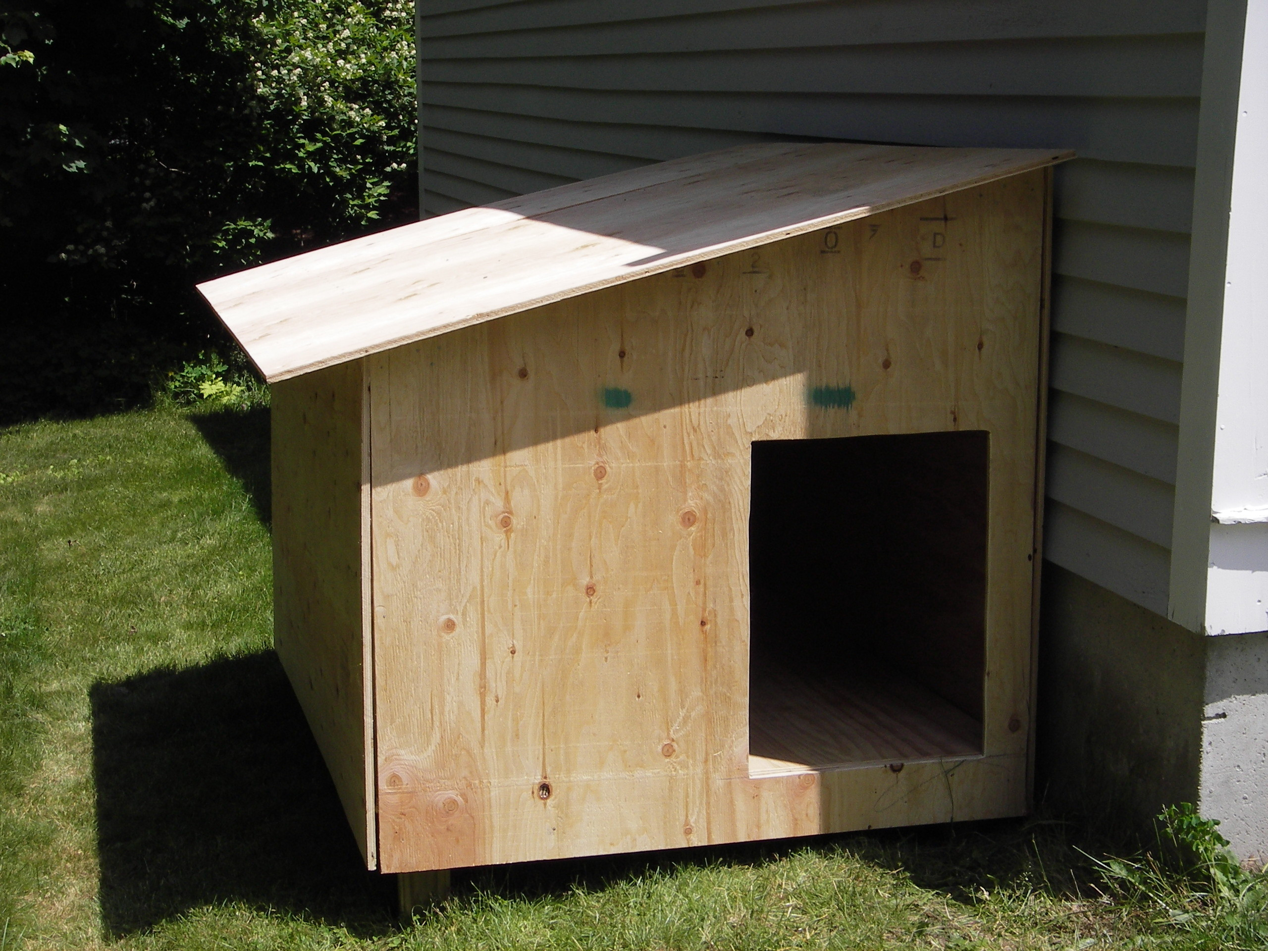 DIY Large Dog House  Claypool Dog House