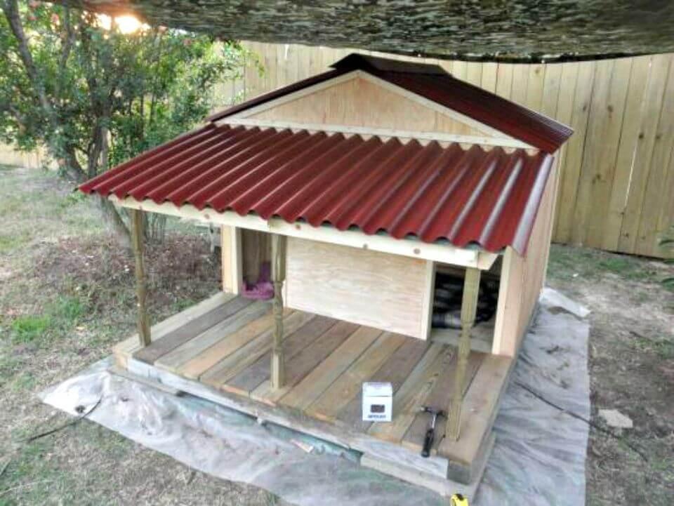 DIY Large Dog House  45 Easy DIY Dog House Plans You Should Build This Season