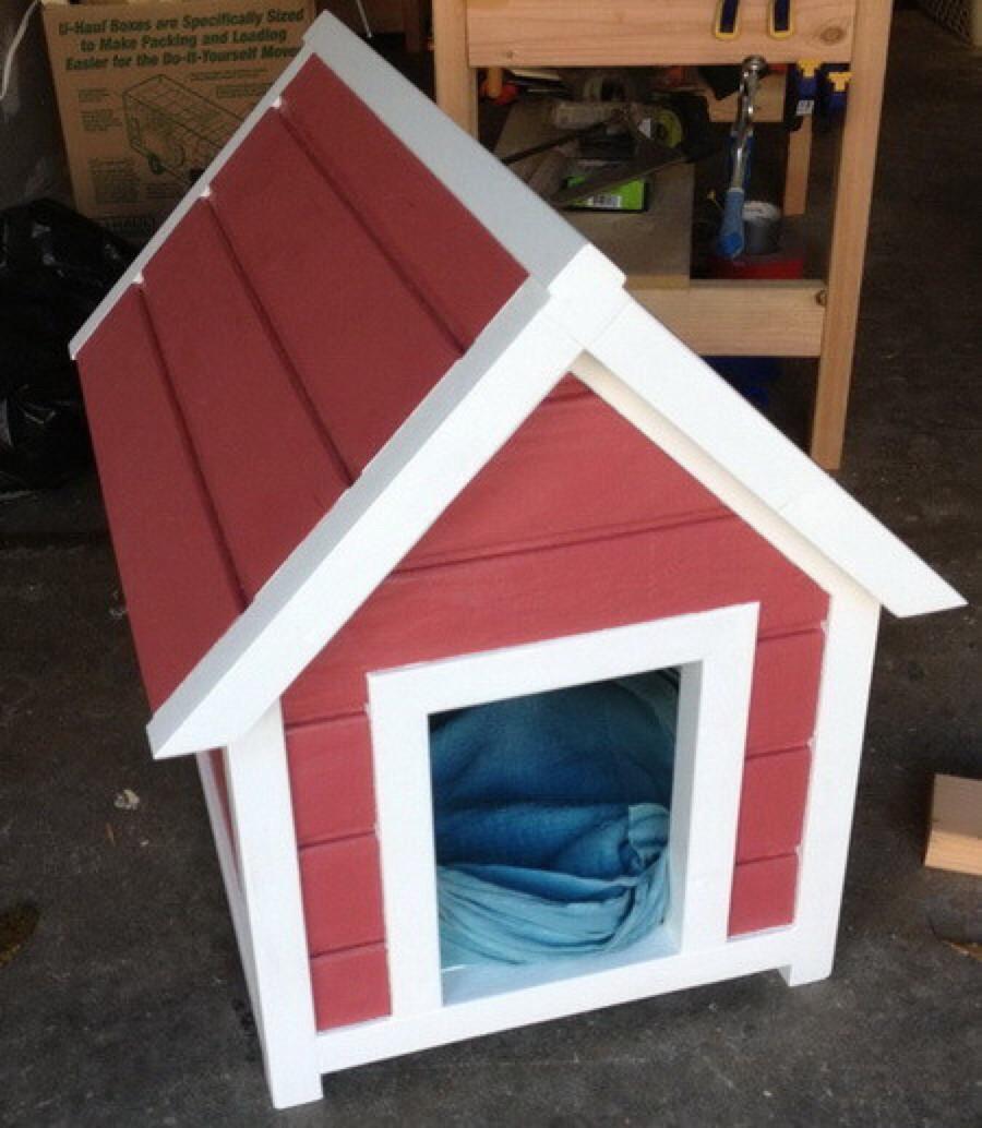 DIY Large Dog House  5 Droolworthy DIY Dog House Plans