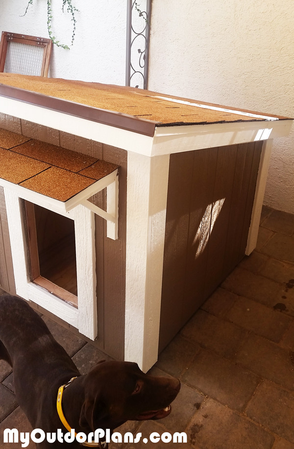 DIY Large Dog House  DIY Insulated Dog House MyOutdoorPlans
