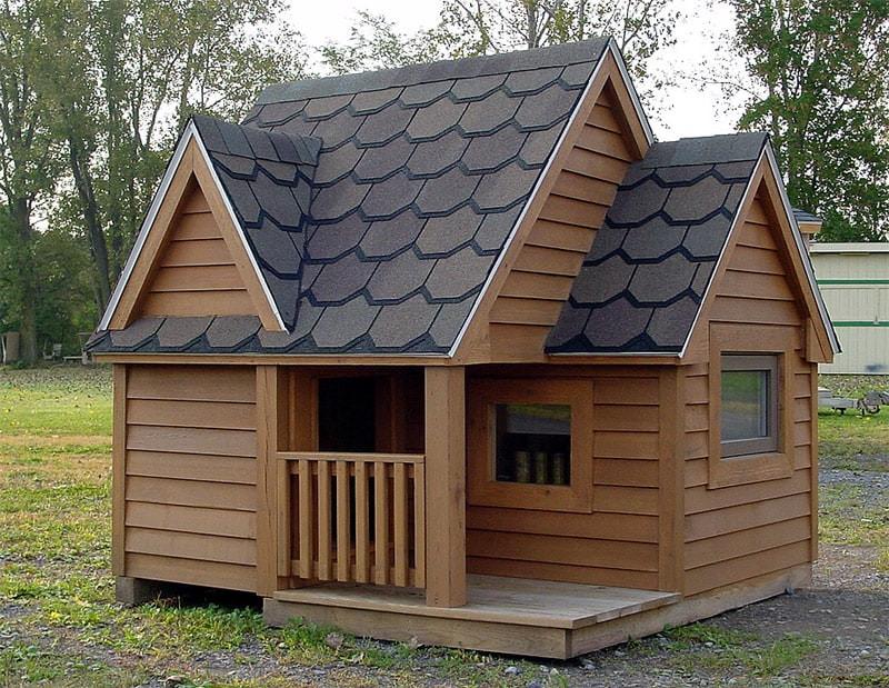 DIY Large Dog House  30 Awesome Dog House DIY Ideas Indoor Outdoor Design PHOTOS
