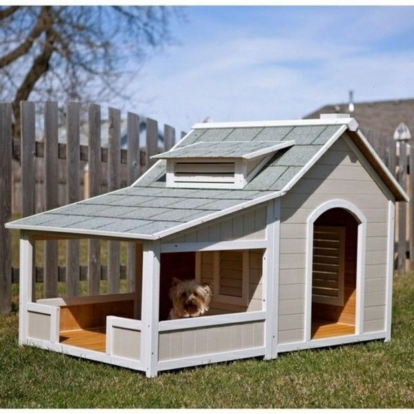 DIY Large Dog House  Elegant Multiple Dog House Plans